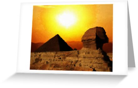 Sphinx, Egypt by GarfunkelArt
