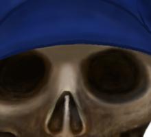 LA Skull  Sticker
