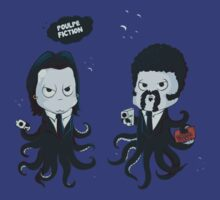 Poulpe Fiction by Donnie Illustration