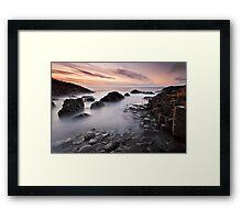 Giants Causeway at Twilight Framed Print