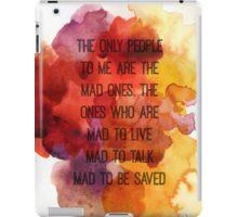 Kerouac Watercolour II iPad Case/Skin