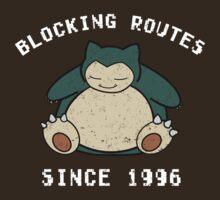 Pokemon Snorlax Since Shirt by jeice27