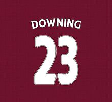 West Ham - Downing (23) by Thomas Stock