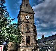 Alnmouth Church by Andrew Pounder