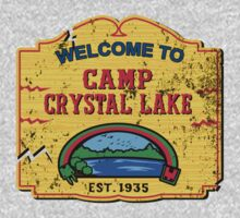 Welcome to Camp Crystal Lake by DCVisualArts