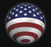 USA - American Flag - Football or Soccer 2 by graphix