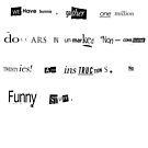 The Big Lebowski Bunny ransom letter Limited Edition Print by Creative Spectator