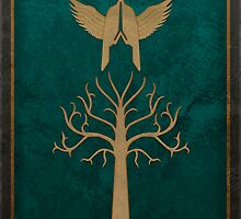 Faramir's Shield (Lord of the Rings) by enthousiasme