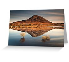 Reflections of Errigal Greeting Card