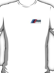 bmw m logo small upper left side T-Shirt