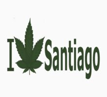 0065 I Love Santiago  by Ganjastan