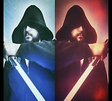 Jedi vs Sith by darthmisfit