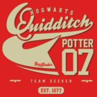 Harry Potter - Quidditch Shirt by soulthrow