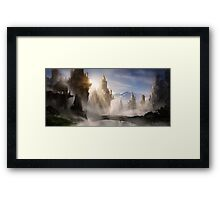 Skyrim Fantasy Ruins Framed Print