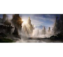 Skyrim Fantasy Ruins Photographic Print