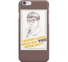 RUSHMORE - Max Fischer iPhone Case/Skin