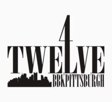 4Twelve Black Print by Ashlee Evans