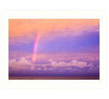 Twilight Rainbow Art Print