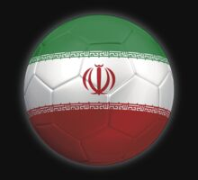 Iran - Iranian Flag - Football or Soccer 2 by graphix