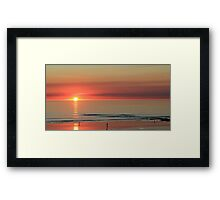 Sunset at Cable Beach Broome Framed Print