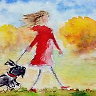 Walking Scottie Dog by archyscottie