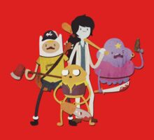 Adventure Time meets Left 4 Dead by saboe