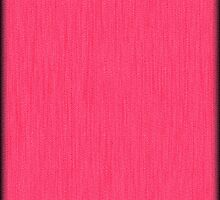 Fabulous Hot Pink Wood Grain by Nhan Ngo