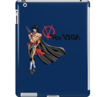 V for Vega iPad Case/Skin