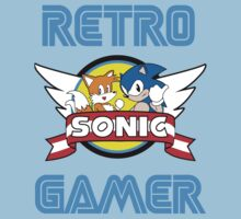 Retro Gamer Sonic Design by TheDorknight