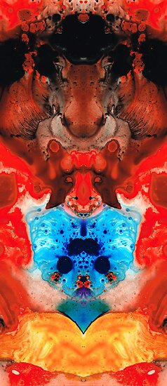 Beauty And The Beast - Abstract Art By Sharon Cummings by Sharon Cummings
