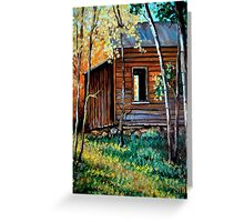 """The Old Bunkhouse"" Greeting Card"