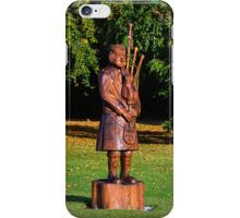 FORRES PIPER IN AUTUMN iPhone Case/Skin