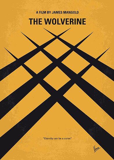 No222 My Wolverine minimal movie poster by Chungkong