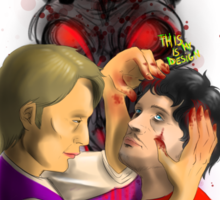 Hannibal - Bad Romance Sticker