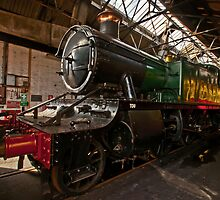 Didcot Railway Centre In Colour by Simon Lawrence