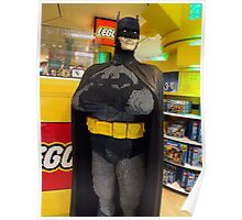 Batman Lego, FAO Schwarz Toy Store, New York City Poster