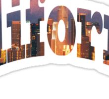 California t-shirt Sticker