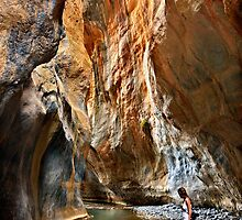 Exploring Sarakina Canyon by Hercules Milas
