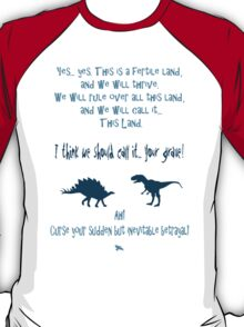 curse your sudden but inevitable betrayal, firefly, blue T-Shirt