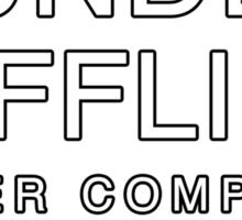 Dunder Mifflin, Inc (The Musical) Sticker