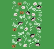 Boo! Pattern Kids Clothes