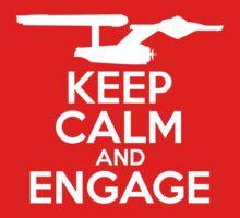 Keep Calm and Engage by mancerbear