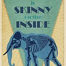 Everyone is skinny on the inside by Bas van Oerle