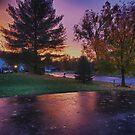 Fall Sunset by barkeypf