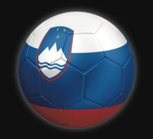 Slovenia - Slovenian Flag - Football or Soccer 2 by graphix