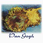 Vincent Van Gogh - Cut Sunflowers by William Martin