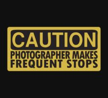 Caution, photographer on duty by wangry