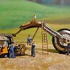Diorama6 : Watch Parts Motorcycles by OfficialWPM