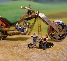 Diorama8 : Watch Parts Motorcycles by OfficialWPM