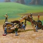 Diorama13 : Watch Parts Motorcycles by OfficialWPM